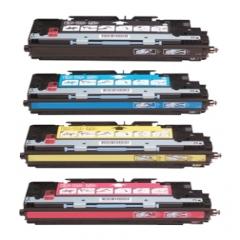 Compatible HP Q2670A, Q2671A, Q2672A, Q2673A a Set of 4 Toner Cartridges