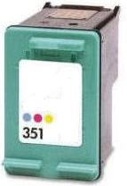 Original HP 351 Colour Ink cartridge