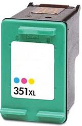 Remanufactured HP 351XL Colour Ink Cartridge (CB338EE) High Capacity