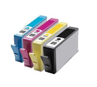 Compatible HP 364XL set of 4 Ink cartridges Black/Cyan/Magenta/Yellow
