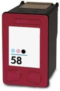 Remanufactured HP 58 (C6658AE) High Capacity Photo  Ink cartridge