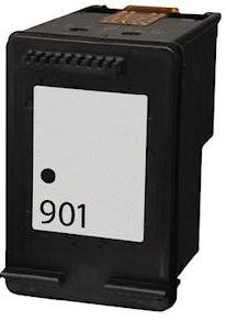 Remanufactured HP 901 Black Ink cartridge High Capacity (CC653aa)