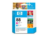 Original HP 88 Magenta and Cyan  Printhead C9382A