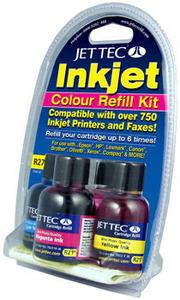 Universal Inkjet Colour Refill Kit 90ml