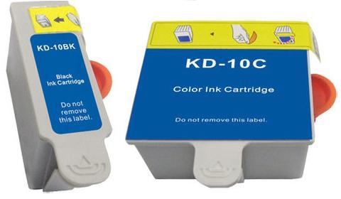 Compatible Kodak 10 Black and Colour Ink cartridges