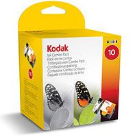 Original Kodak 10 Black and Colour Ink Cartridge Multipack (3947074)