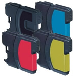 Compatible Brother LC980 Inkjet Cartridges Full Set of 4