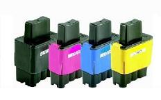 Compatible Brother LC900/LC41 Set of 4 Ink Cartridges