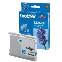 Original Brother LC970C Cyan Ink cartridge