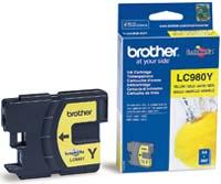 Original Brother LC980Y Yellow Inkjet Cartridge