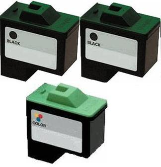 Remanufactured Lexmark 16 Black and 26 Colour Ink Cartridge + EXTRA BLACK High Capacity