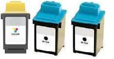 Remanufactured Lexmark 50 and 20 Ink Cartridges + EXTRA BLACK High Capacity