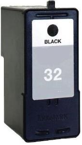 Remanufactured Lexmark 32 Black  Cartridge (18C0032e)