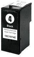 Remanufactured Lexmark 4 Black Cartridge (18C1974)