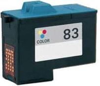 Remanufactured Lexmark 83 Colour High Capacity Ink cartridge (18L0042)