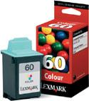 Original Lexmark 60 Colour Ink cartridge (17G0060)