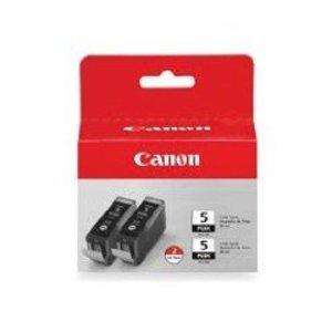 Original Canon PGI-5BK Black Ink Cartridges Twin Pack