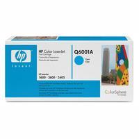 Original HP Q6001A Cyan Toner Cartridge