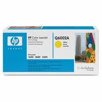 Original HP Q6002A Yellow Toner Cartridge