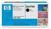 Original HP Q6470A Black Toner Cartridge