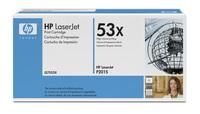 Original HP Q7553X Black Toner Cartridge