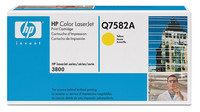 Original HP Q7582A Yellow Toner Cartridge