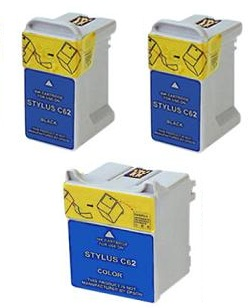 Compatible Epson T040 Black and T041 Colour Ink Cartridge + EXTRA BLACK