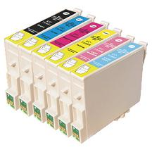 Compatible Epson T0481/T0482/T0483/T0484/T0485/T0486 a Set of 6 Ink cartridges