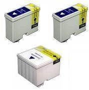 Compatible Epson T050 Black and T053 Colour  Ink Cartridge + EXTRA BLACK