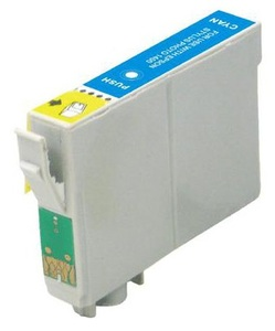 Compatible Epson T0712 Cyan Ink cartridge