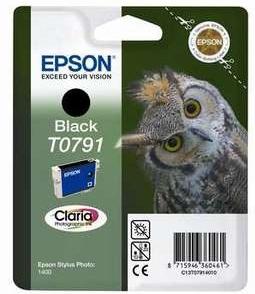 Original Epson T0791 Black Ink Cartridge
