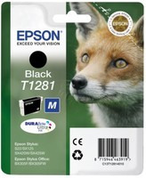 Original Epson T1281 Black Ink Cartridge