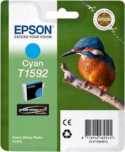 Original Epson T1592 Cyan Ink Cartridge