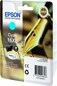 Original Epson 16XL Cyan Ink cartridge High Capacity (T1632)  (16XL)