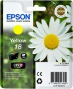 Original Epson 18 Yellow Ink cartridge (T1804)