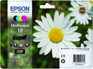 Original Epson 18 Colour Multipack 4 Cartridges (T1806) (Black,Cyan,Magenta,Yellow)