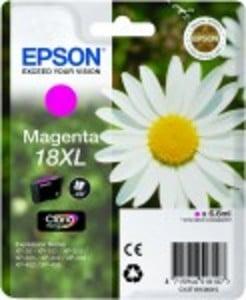 Original Epson 18XL Magenta Ink Cartridge High Capacity (C13T18134010)