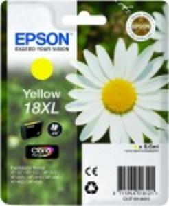 Original Epson 18XL Yellow Ink Cartridge (C13T18144010) High Capacity