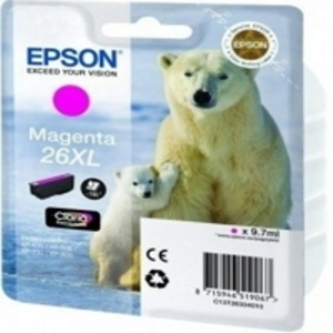 Original Epson 26XL Magenta Ink cartridge High Capacity (T2633) (26XL)