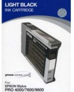 Original Epson T5437 Light Black Ink Cartridge