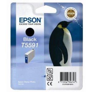 Original Epson T5591 Black Ink Cartridge