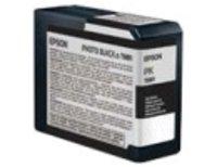 Original Epson T5801 Photo Black Ink Cartridge br /