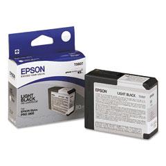 Original Epson T5807 Light Black Ink Cartridge &nbsp