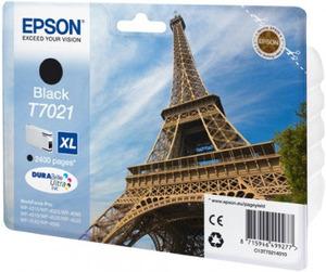 Original Epson T7021 XL Black Ink Cartridge