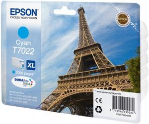 Original Epson T7022 XL Cyan Ink Cartridge