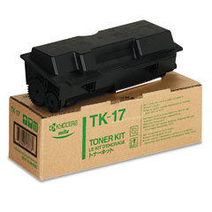Original Kyocera TK-17 Black Toner Cartridge
