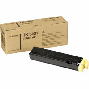 Original Kyocera TK-500Y Yellow Toner Cartridge
