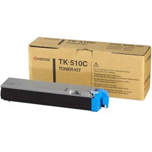 Original Kyocera TK-510C Cyan Toner Cartridge