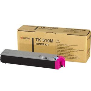 Original Kyocera TK-510M Magenta Toner Cartridge