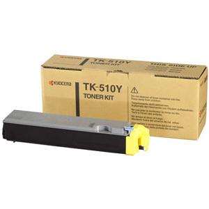 Original Kyocera TK-510Y Yellow Toner Cartridge